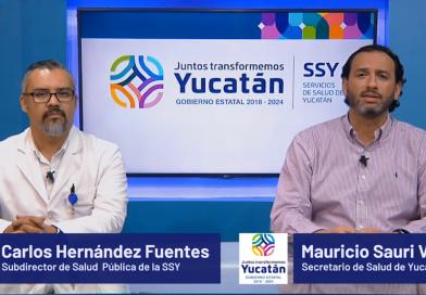 Cuatro nuevos casos positivos de COVID-19 en Yucatán