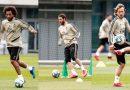 Real Madrid regresa a entrenar