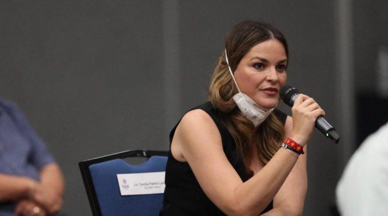 Cecilia Patrón Laviada, da positivo a COVID-19