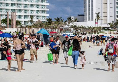 Caribe mexicano sufre fuerte repunte de casos de covid-19