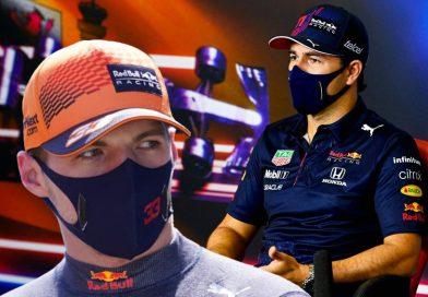'Checo' Pérez y Verstappen uno y dos  en prácticas de Azerbaiyán